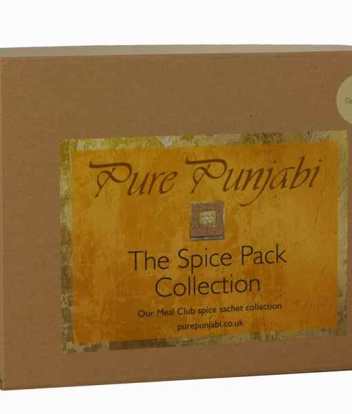 Pure Punjabi Gluten-free meal box coeliac