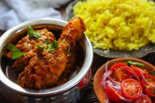 Pure Punjabi meal kit sachet Punjabi Chicken