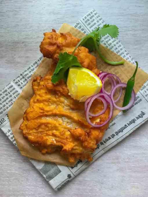 Pure Punjabi Indian Street Food cookery workshop and Amritsari fish meal kit