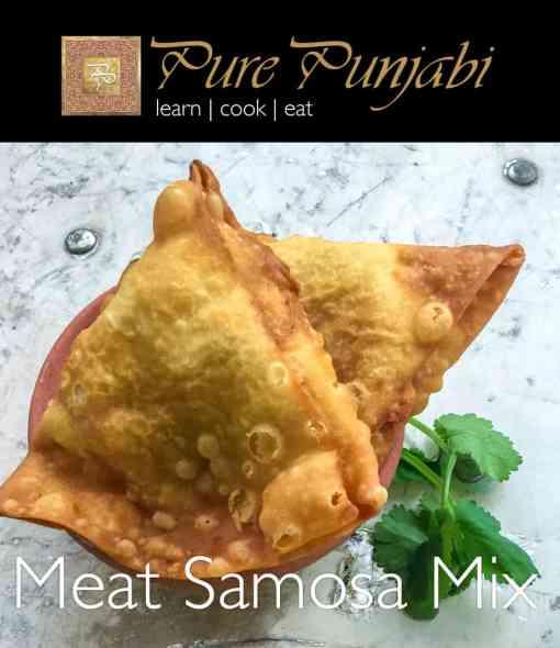 Meat Samosa Mix, Pure Punjabi meal kits, Pure Punjabi Meat Samosa Mix