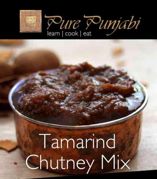 Pure Punjabi Tamarind Chutney Mix, Indian meal kits