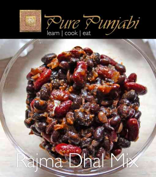 Rajma Dhal Mix, Pure Punjabi Meal Kits, Kidney bean dhal
