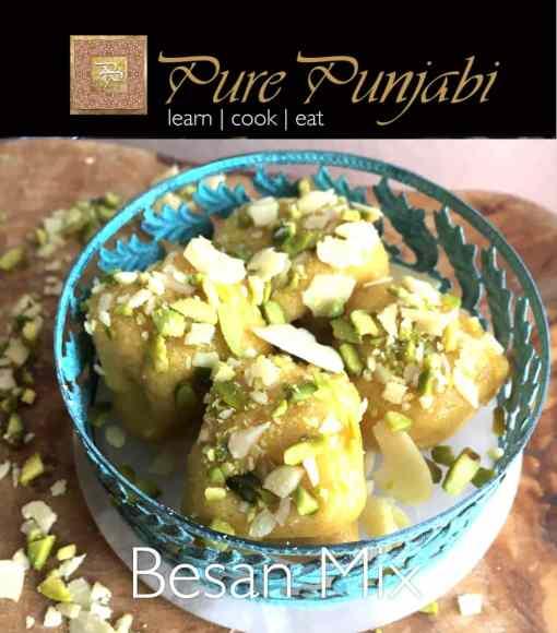 Pure Punjabi Besan, Mix, Indian meal kit, Indian desserts, Indian sweets, purepunjabi.co.uk