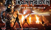 Iron Maiden announce 'Book Of Souls Tour' UK and Ireland dates!