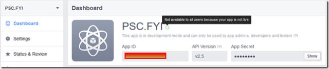 Facebook-Developer_Dashboard