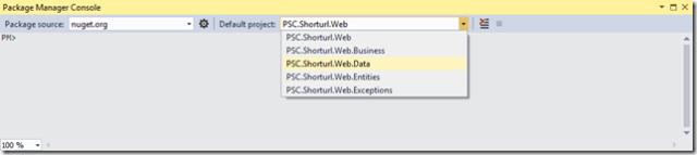 ShortUrl_PackageConsole_Data