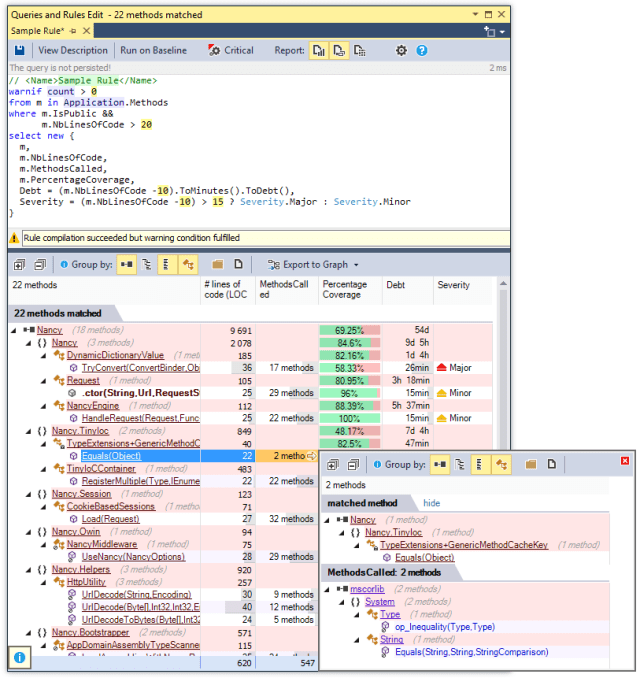 NDepend's Static Analysis Tools Have Been Updated for .NET Core 2 and Visual Studio