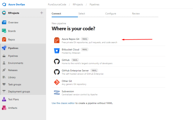 Azure DevOps - Where is your code? - Deploy ShinyApps with Azure and Docker