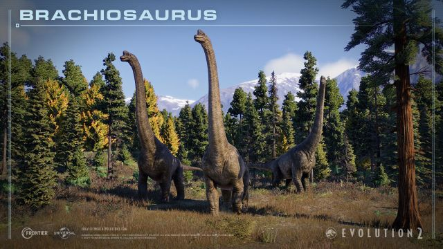Jurassic World Evolution 2 - Brachiosaurus
