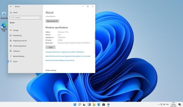 Windows 11 Settings - Windows 11 leak reveals new UI