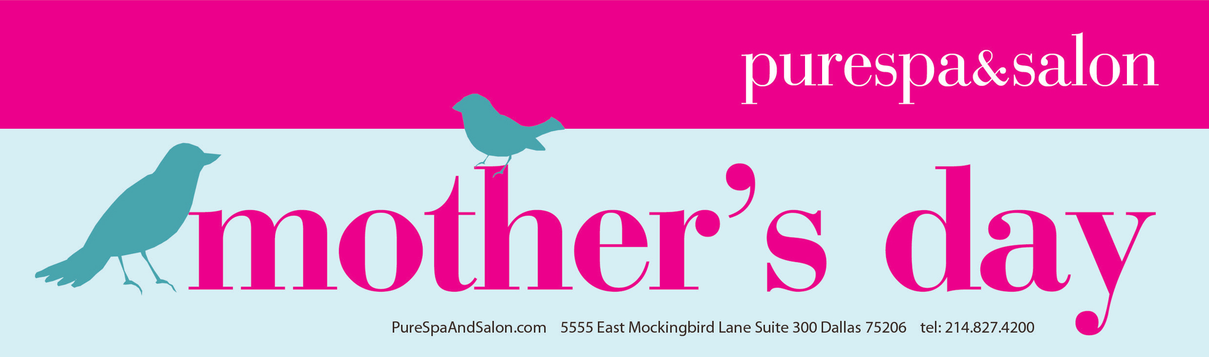 Pure Spa and Salon - Mothers Day specials