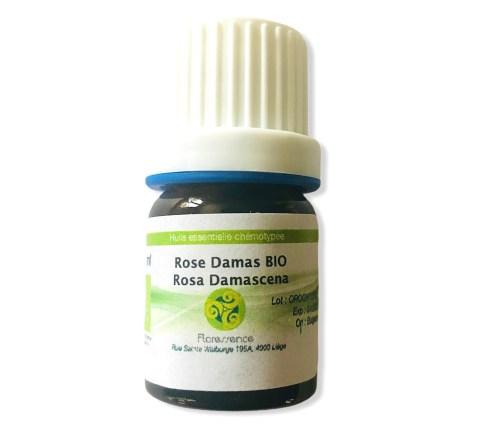 Huile essentielle Rose de Damas bio