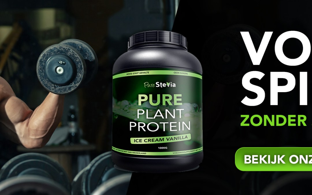 Pure Plant Protein!