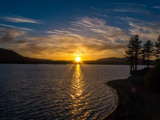 Lake Davis Sunset