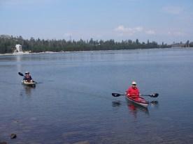 kayaking loon lake