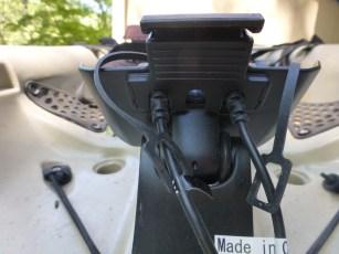 Garmin fishfinder on kayak
