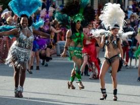Mardi Gras parade Nevada City, CA