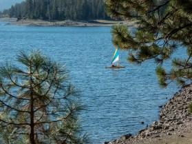 Hobie on the lake