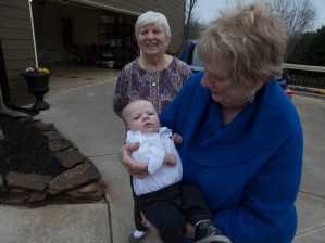 Mom, Jill and Chance