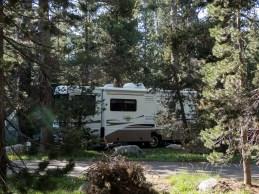 Camping at Wrights Lake