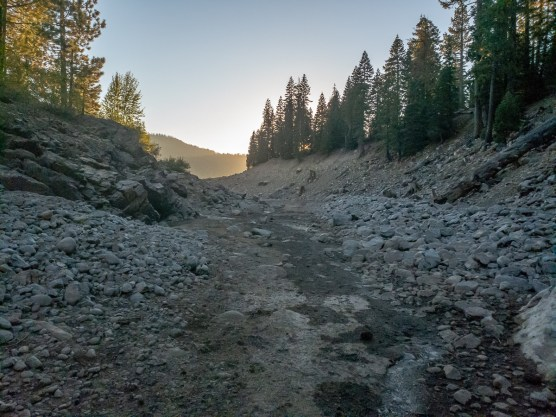 Dried up Pass Creek
