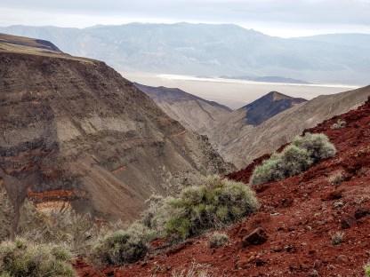 Death Valley where jets flew