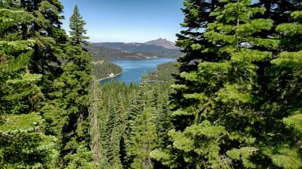 Sierra Buttes in bg.