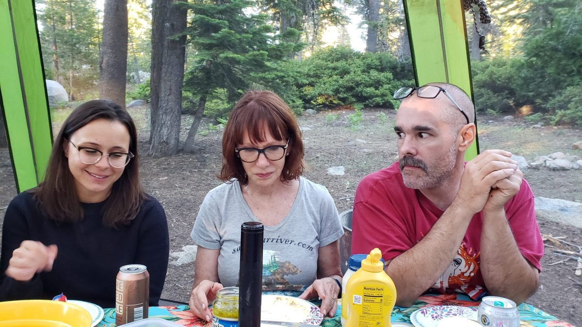 Family Campout at Loon Lake July 14, 2019