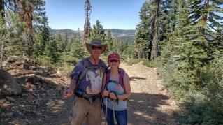 Hiking to English Mtn