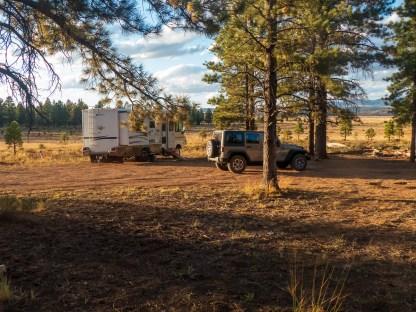 Bryce campsite