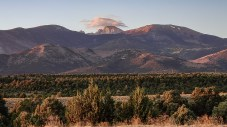 View of Wheeler peak from our site