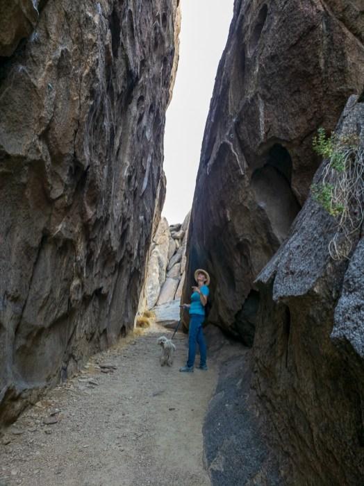 rock climbing place at Alabama Hills