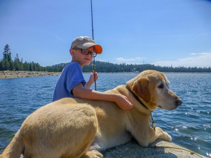 Fishing with Atticus