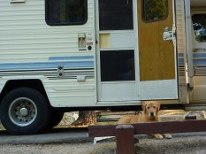Our first RV campout