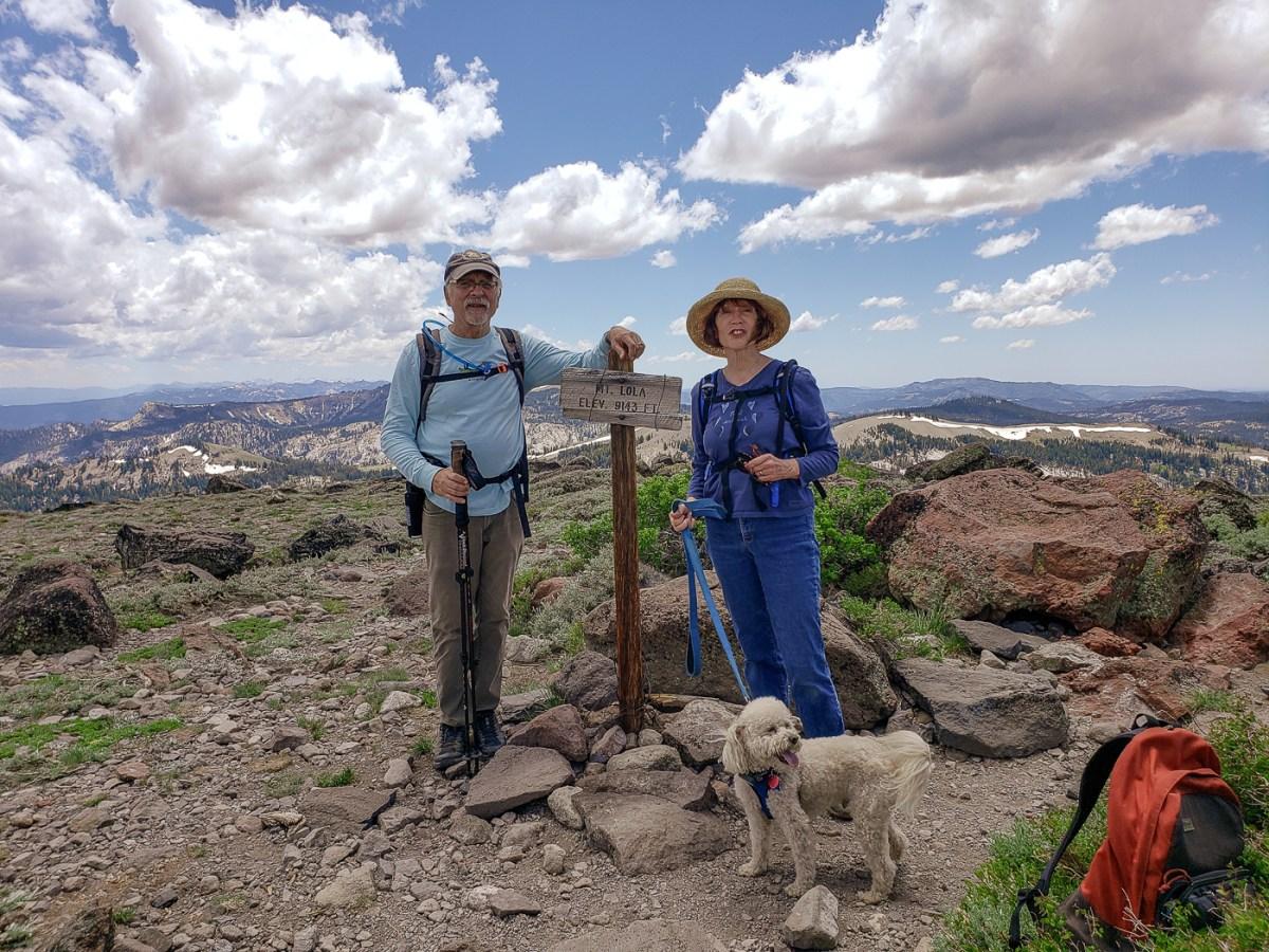 Jackson Meadows and Mt. Lola Climb