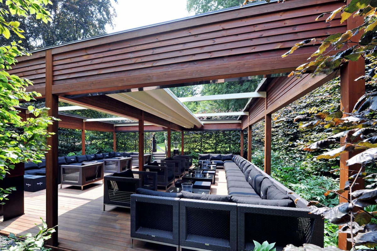 Seattle Modular Wood Patio Covers | Pure Tech Window Fashion on Patio Cover Ideas Wood id=80429