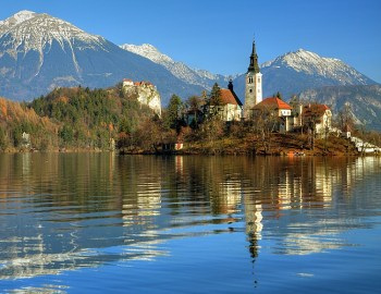 Lake Bled Amazing Craft of Nature