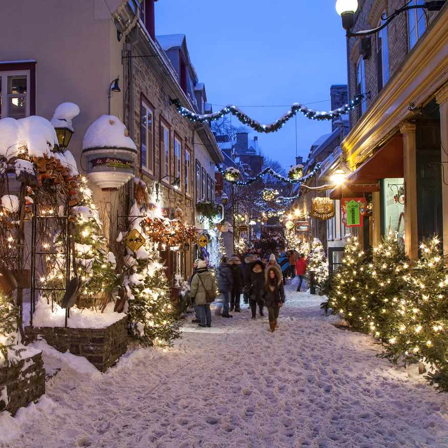 Winter Magic of Quebec City
