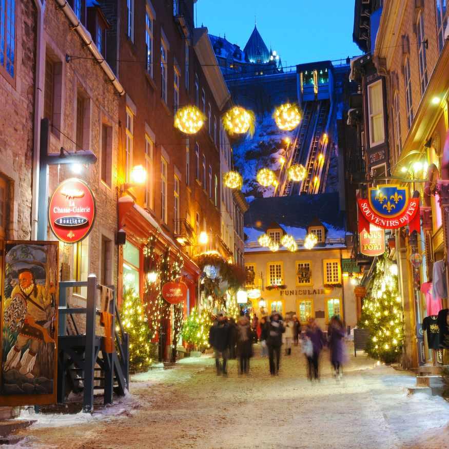 Winter Magic of Quebec City