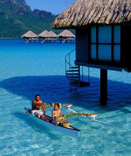 A Beach Vacation to Tahiti