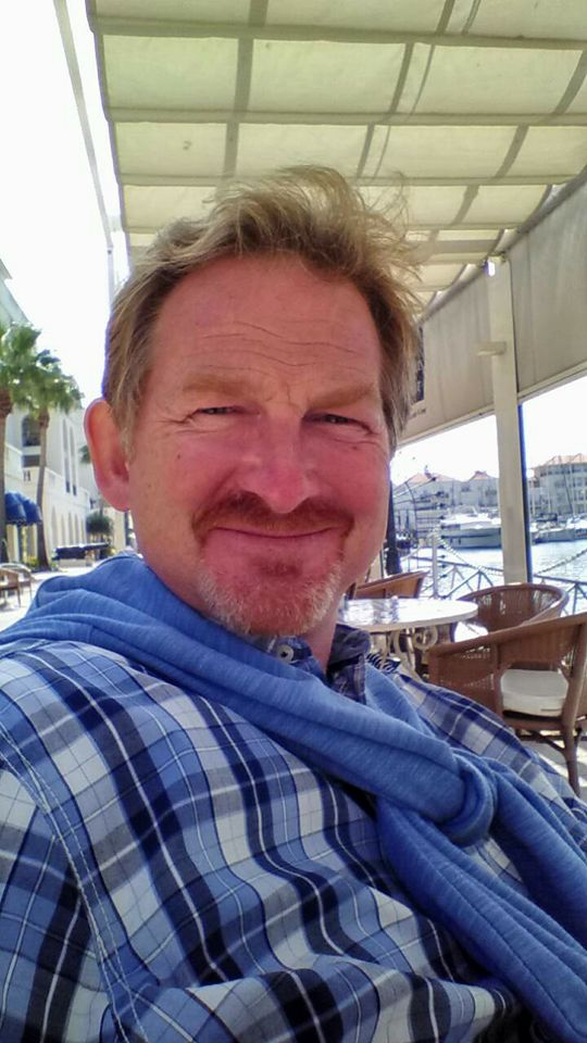 Wesley Baker in Gibraltar