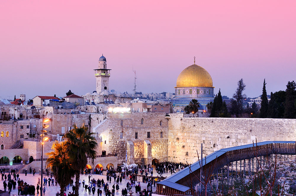 The city of Jerusalem and its people