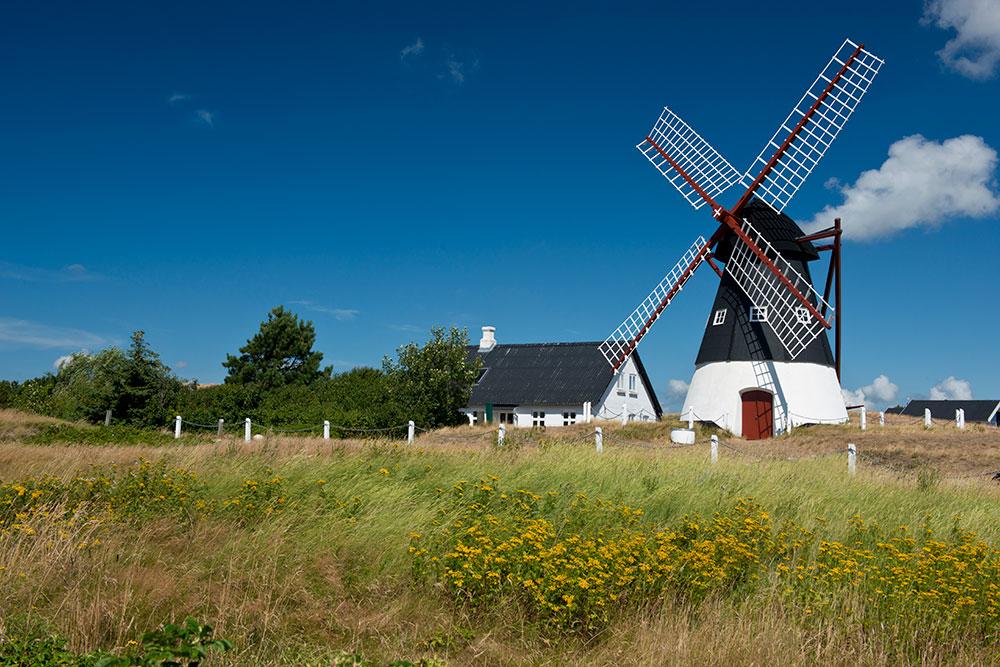 Windmill in Mando - Denmark