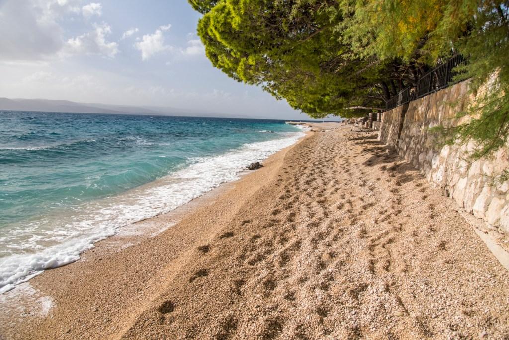 One of many lovely Baska Voda Beaches