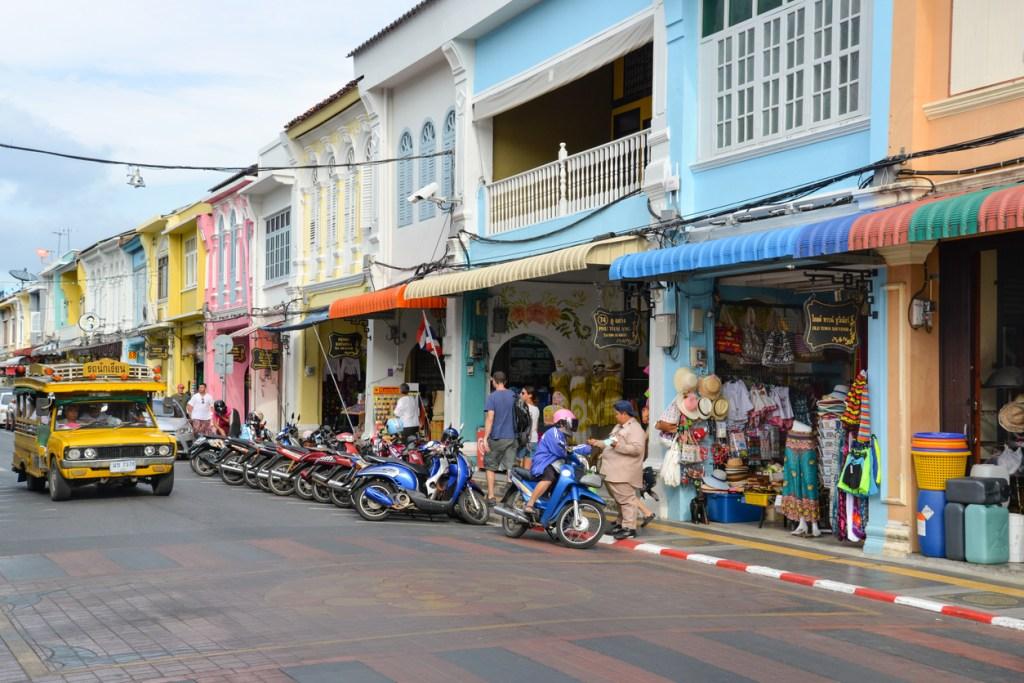 Phuket old town area, Thailand.