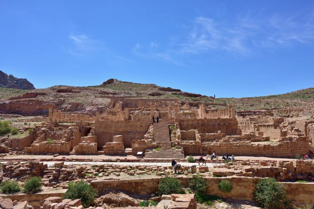 Petra archaeological site - UNESCO world heritage site