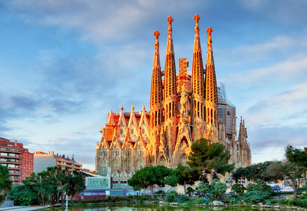 Sagrada Familia, Catholic church in Barcelona, Spain