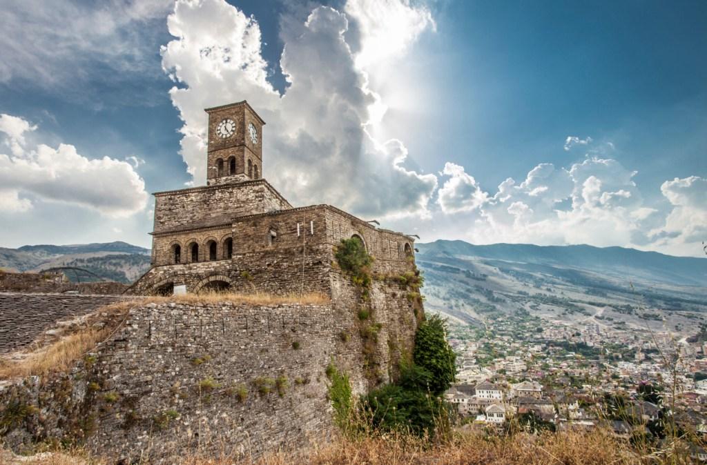 Gjirokastra Castle Albania UNESCO World heritage sight