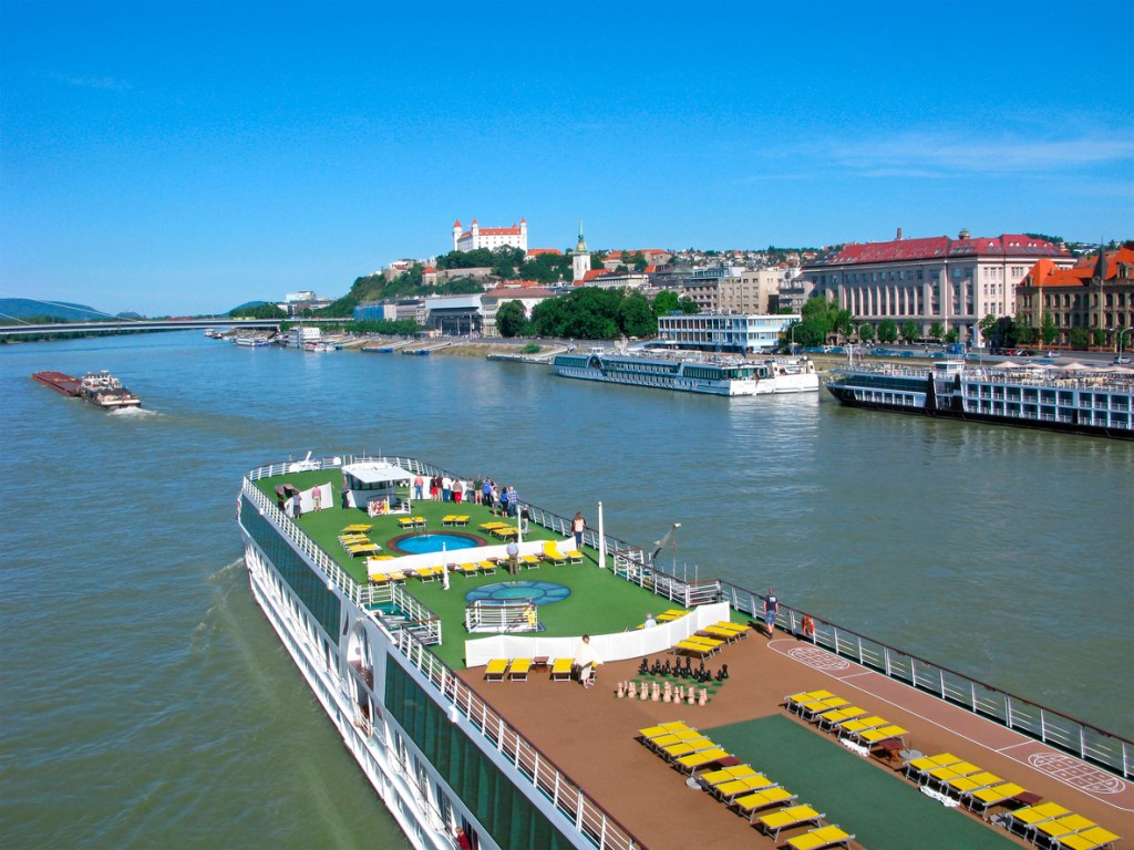 River cruise on Danube
