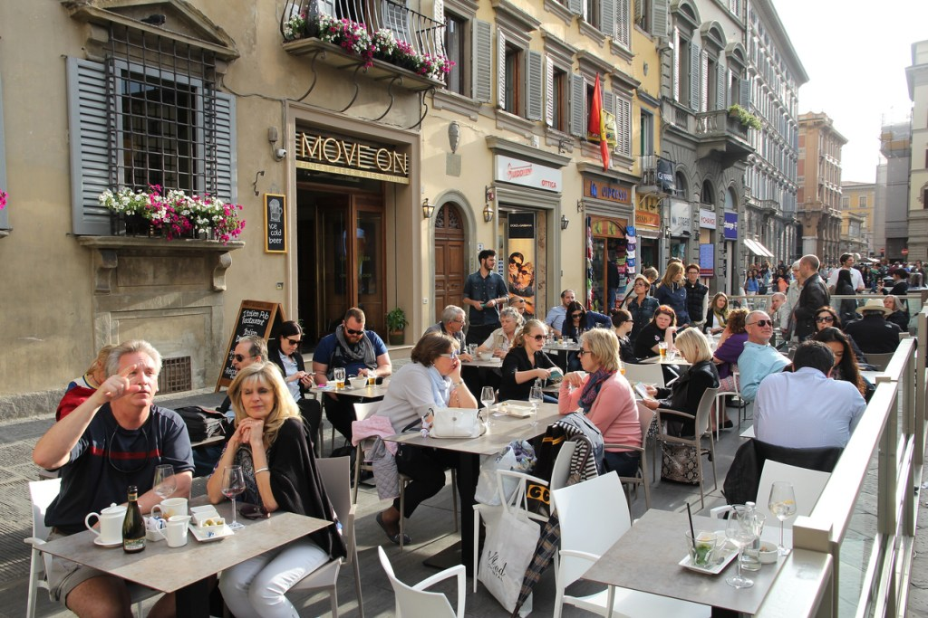 Dining out in Florence, Italy